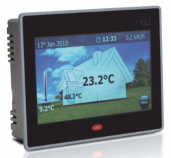 PGDT07010W120 Дисплей Touch-screen, 7 дюймов, монтаж на стену, 1 RS-485, 1 RS-485 OPTO, 1 USB, 2 ETHERNET